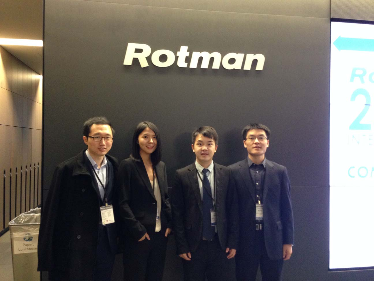 Rutgers M.S.M.F. team scores at Rotman International Competition